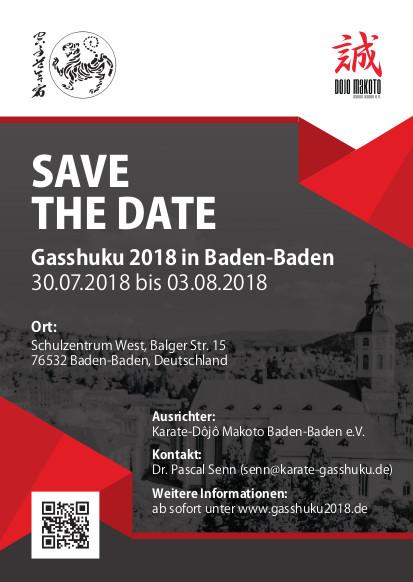 Gasshuku 2018 @ Baden-Baden